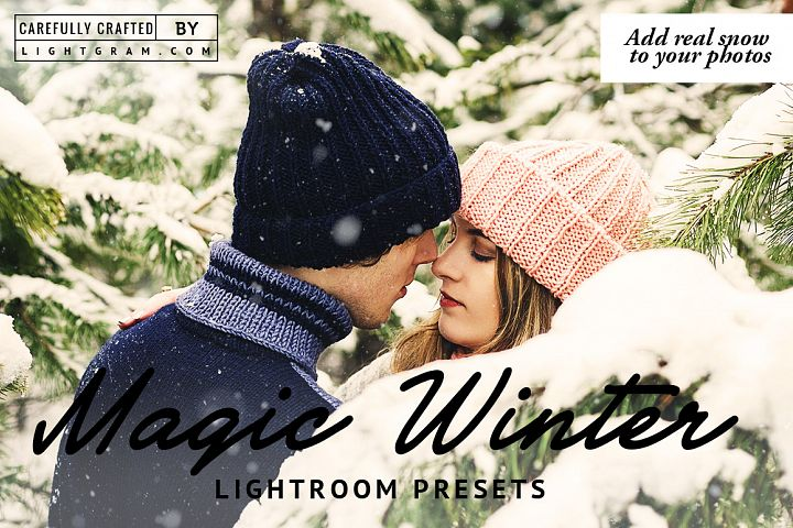 MAGIC WINTER LIGHTROOM PRESETS