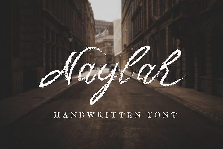 Naylah Script Brush Font