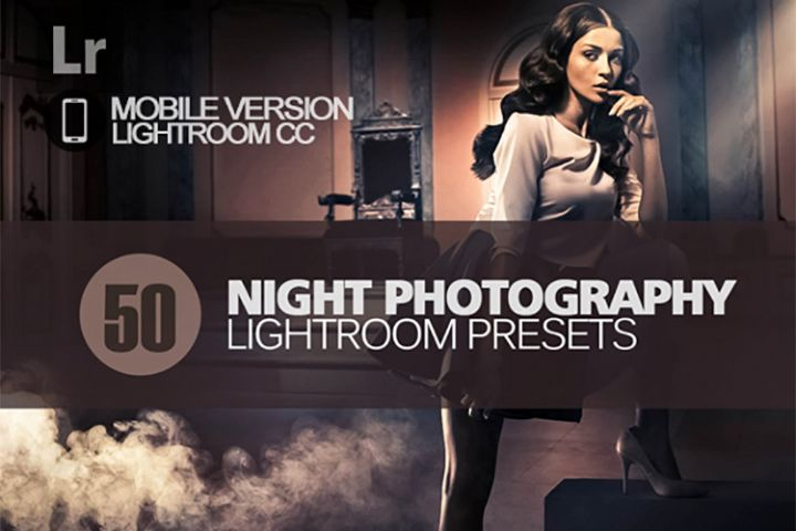 50 Night Photography Lightroom Mobile bundle
