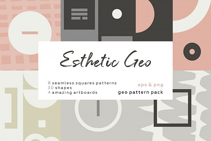 Esthetic Geometric pattern collection