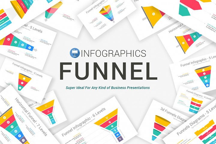 Keynote Funnel Infographics Pack