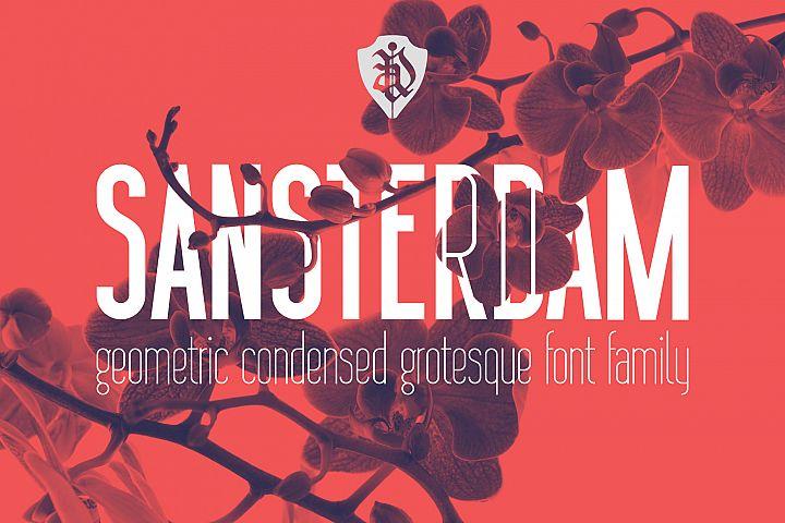Sansterdam Bold and Thin