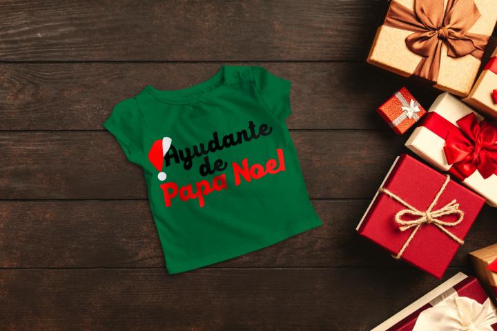 Ayudante de Papa Noel Santas Helper SVG File