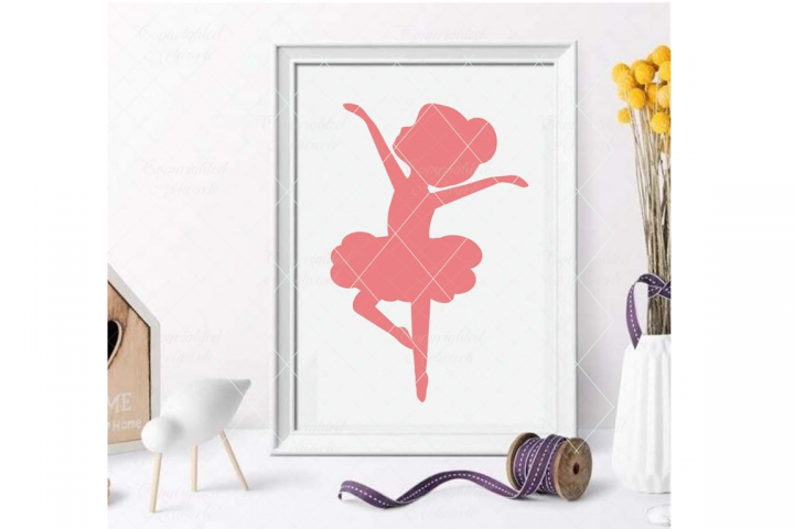 Ballerina svg, little ballerina svg, ballerina cut file