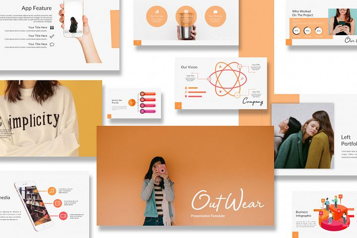 Out Wear Creative Business Powerpoint