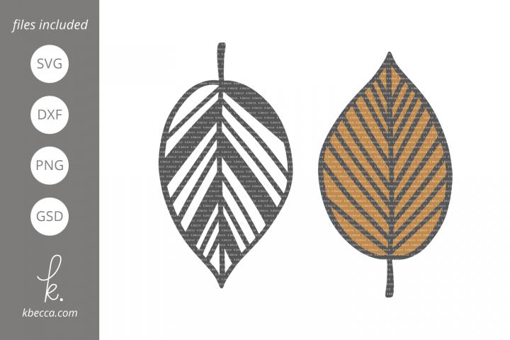 Fall Leaf #3 SVG Cut Files