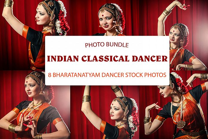 Traditional indian classical dancer