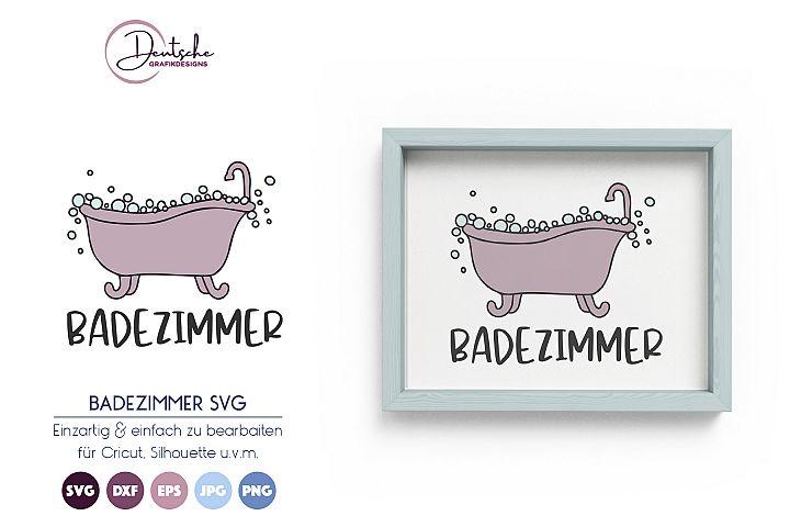 Badezimmer SVG