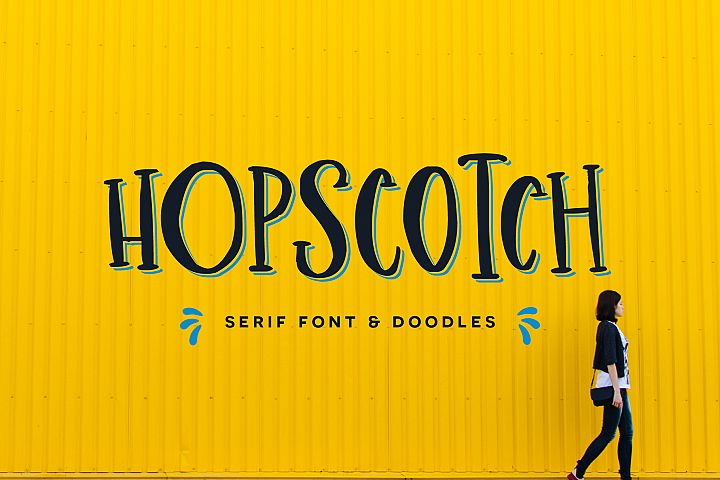 Hopscotch Font