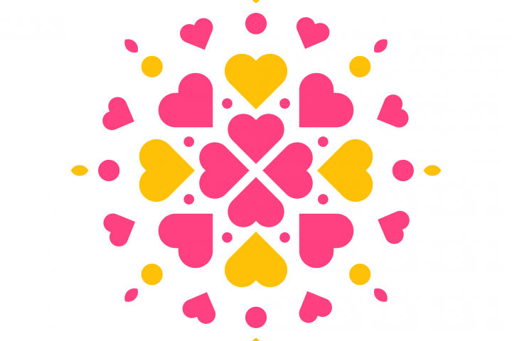 Flower Heart Logo