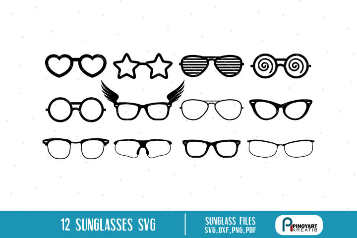Eyeglasses svg Bundle, Sunglasses svg Bundle