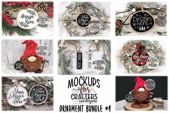 Ornament Bundle #4 - EIGHT ORNAMENT MOCK-UPS