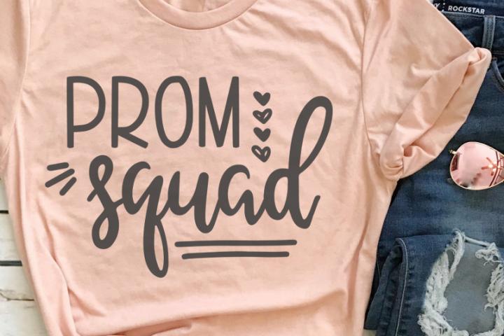 Prom Squad SVG