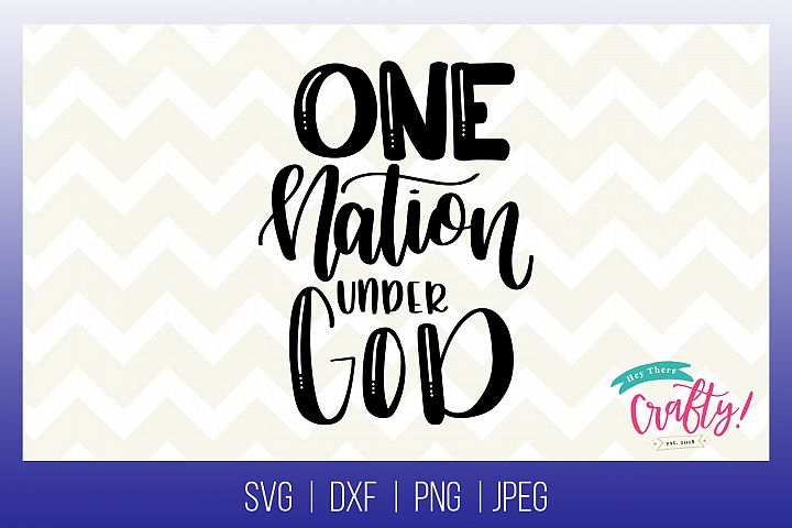 One Nation Under God | Digital File
