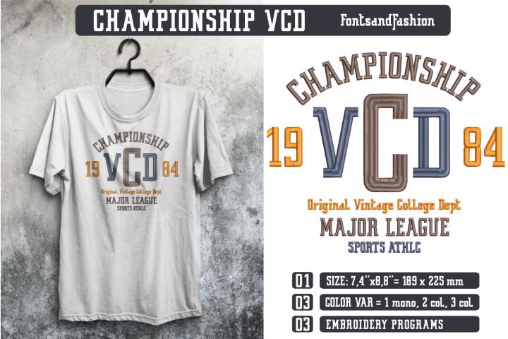 Championship VCD