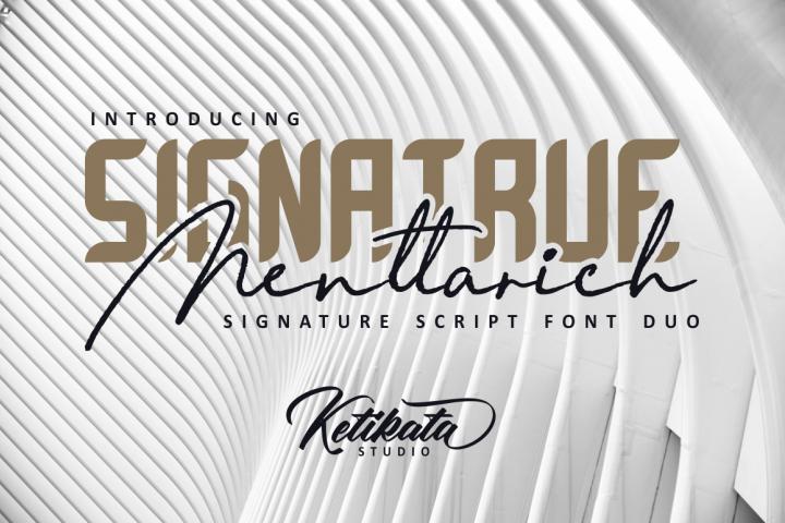 Menttarich Signature Duo