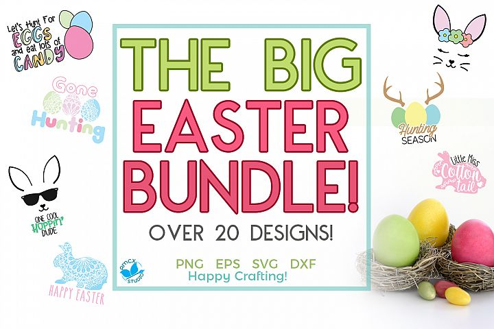 Big Easter Bundle - Easter Craft Files