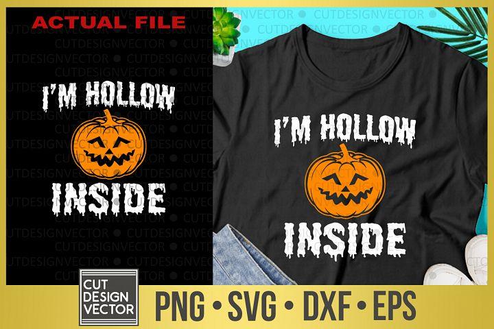 Im Hollow Inside SVG