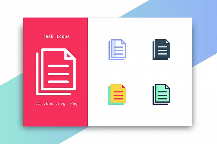 Task Icons Vector