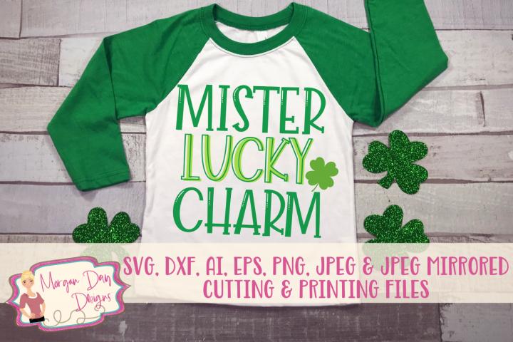 Mister Lucky Charm - St Patricks Day SVG, DXF, AI, EPS, PNG