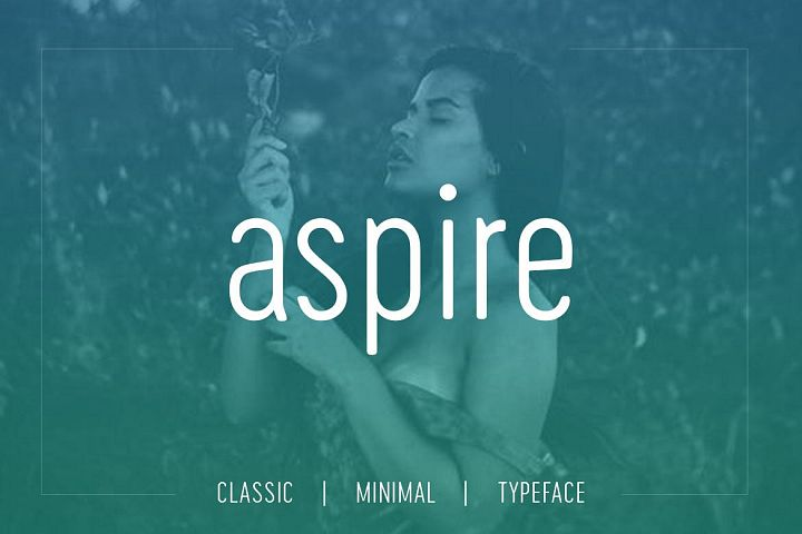 Aspire Sans - Modern Typeface WebFont
