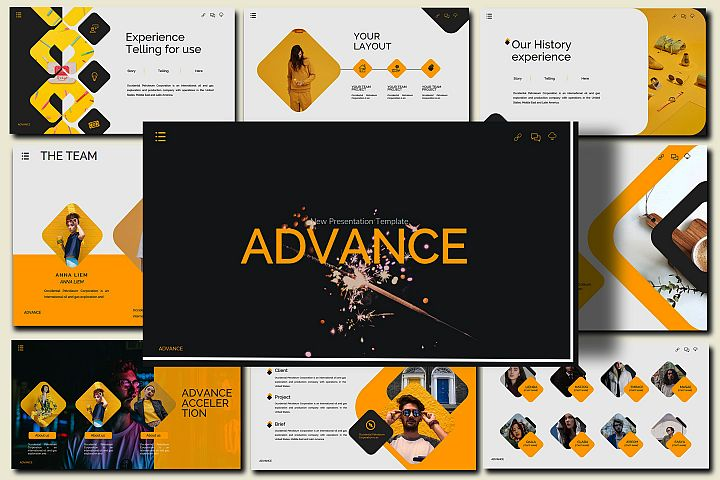 Advance - Lookbook PowerPoint