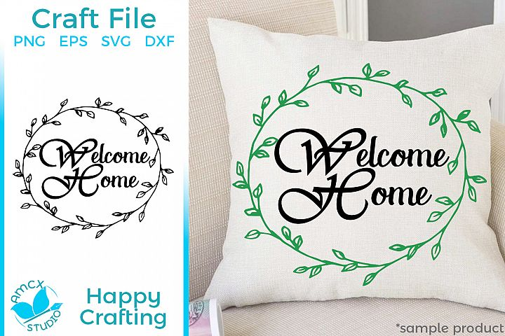Welcome Home - Home decor craft file