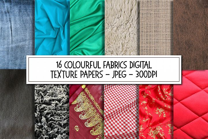 Fabric Textiles Texture Background Images Bundle