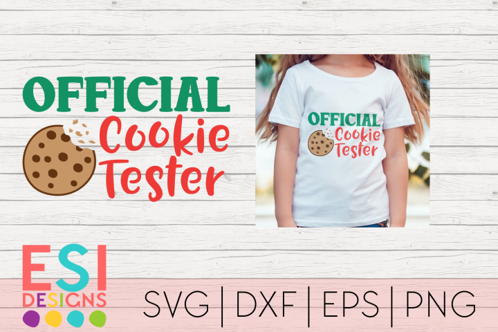 Official Cookie Tester|SVG DXF EPS PNG
