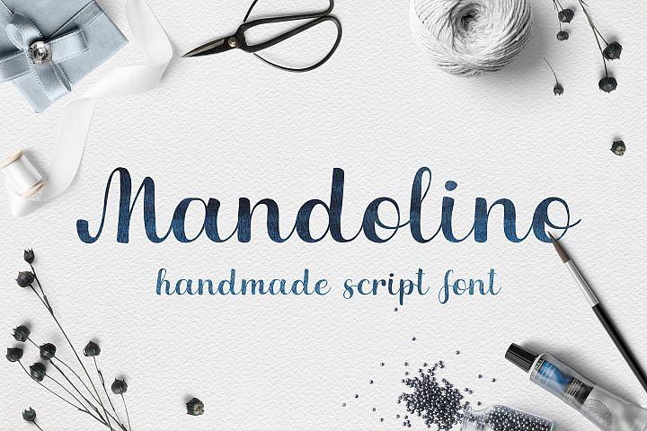 Mandolino - fun script font