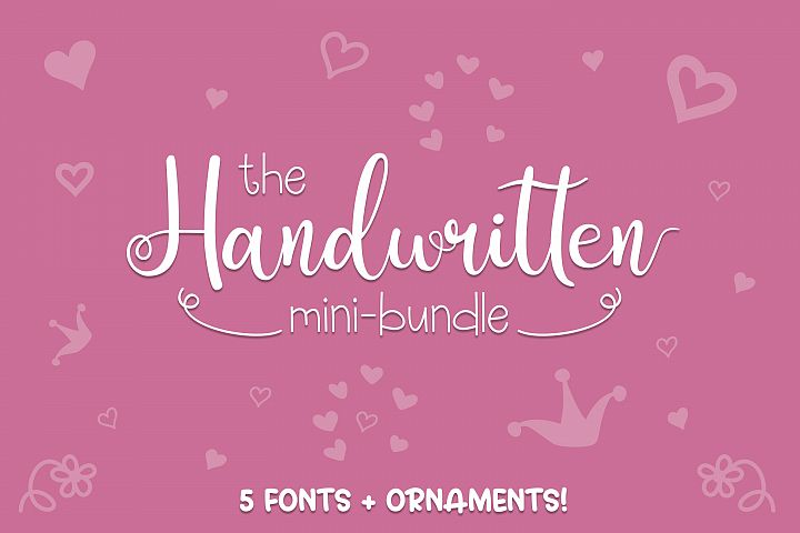 The Handwritten Mini Bundle