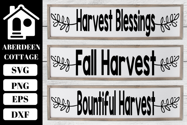 Fall Sign SVG Collection 2