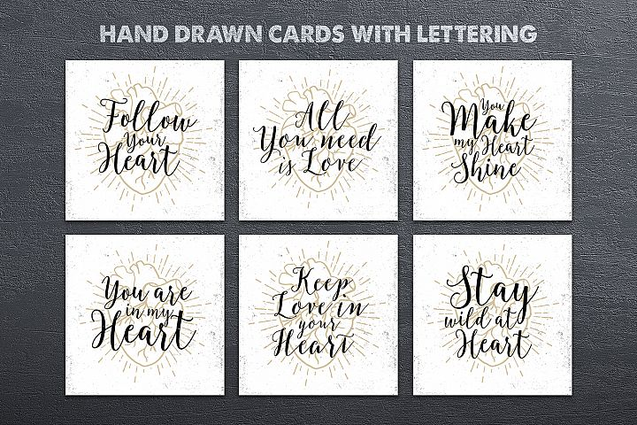 Anatomy of Love (Collection of Cards + Bonus) - Free Design of The Week Design1