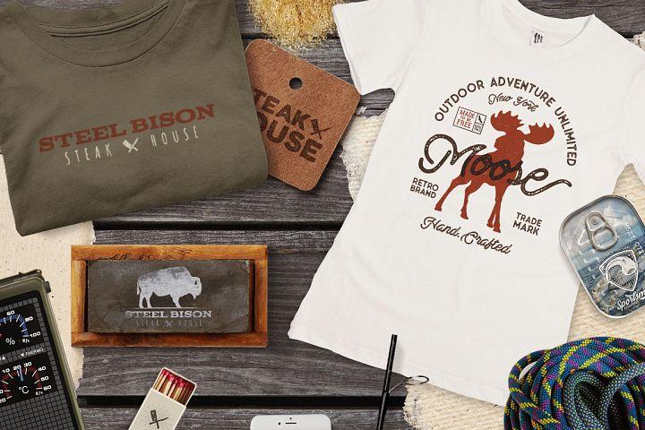 Wild Animals Badges - Free Design of The Week Design 1