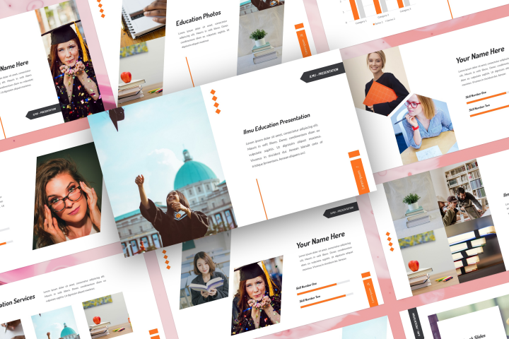 Ilmu - Education PowerPoint Template