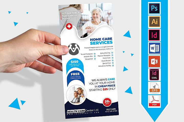 Rack Card | Home Care DL Flyer Vol-01