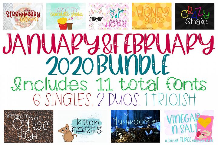 The January February 2020 Bundle