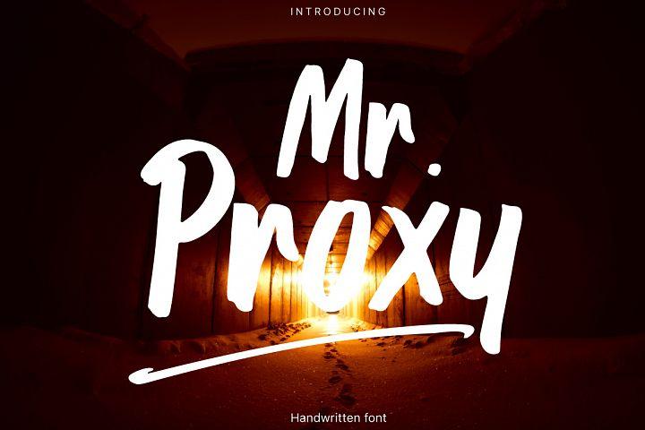 Mr. Proxy