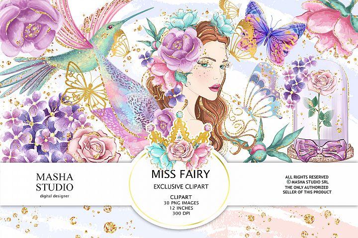 MISS FAIRY Clipart