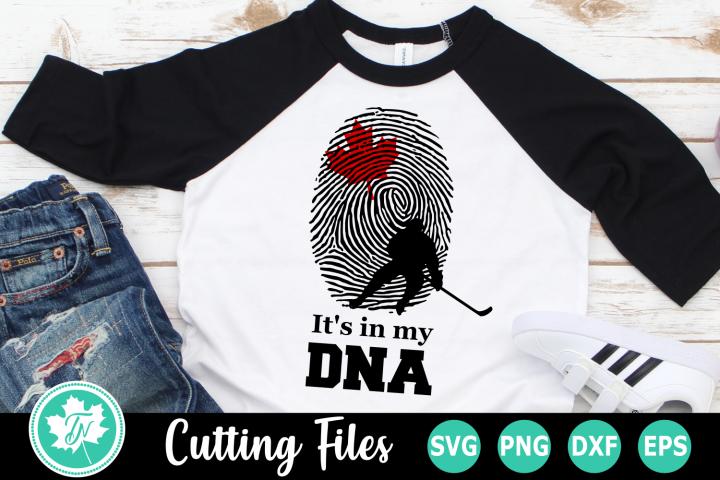 Its in my DNA - A Sports SVG Cut File