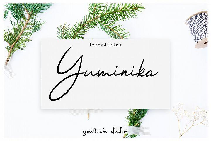 Yuminika - Handwritten Font
