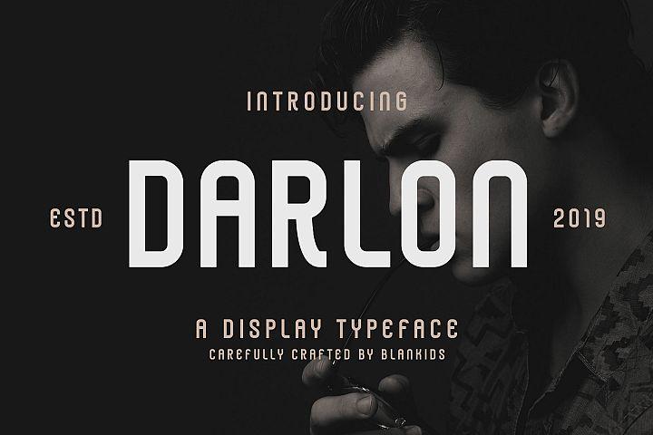 Darlon - Sport Typeface