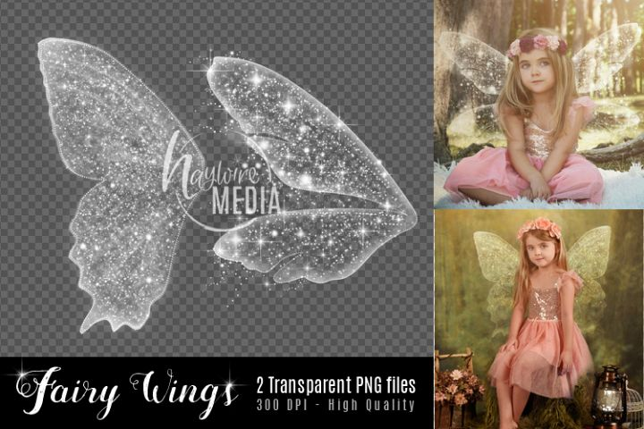 2 Transparent PNG Child Fairy Tale Butterfly Sparkle Wings