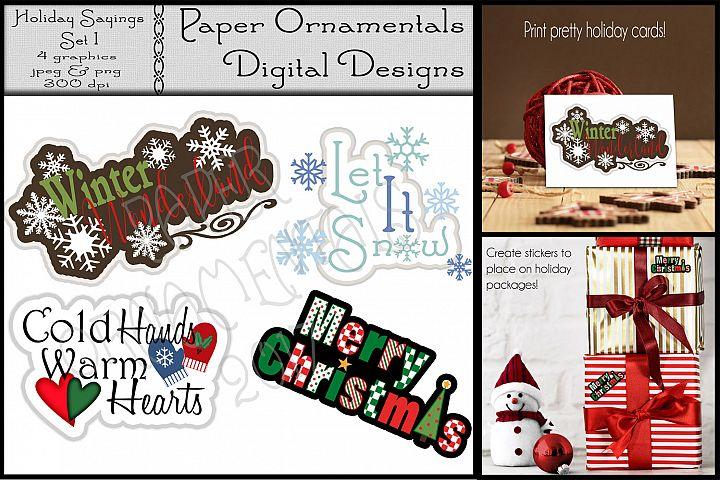 Christmas Clip Art, Christmas Sayings/Quotes