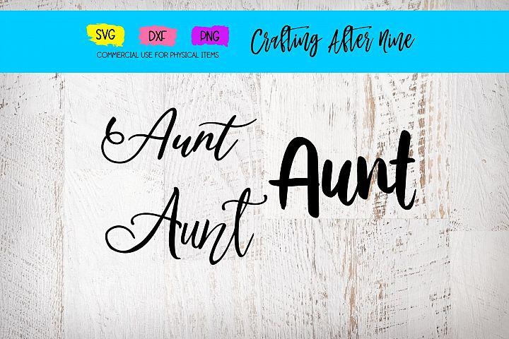 Aunt Bundle, Pregnancy Announcement, Auntie Svg, Aunt to be