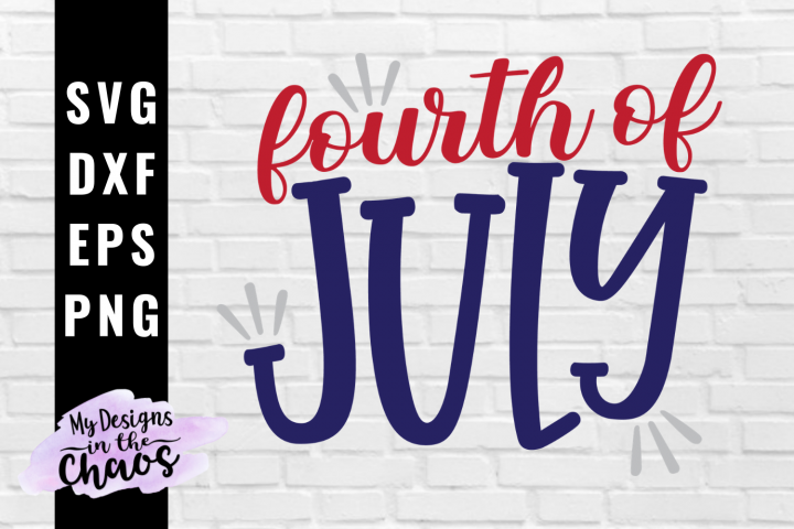 4th of July SVG PNG EPS DXF | Patriotic SVG