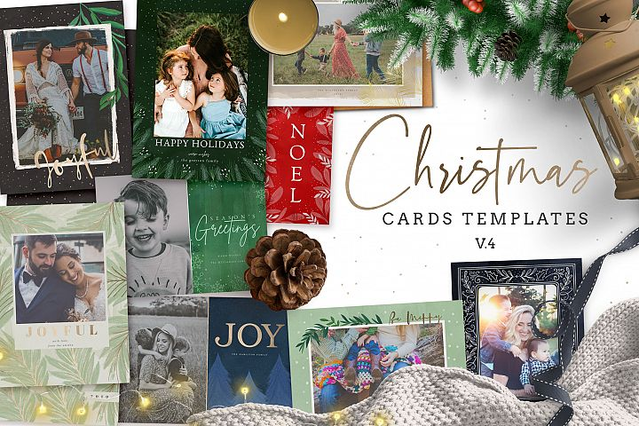 Christmas Card Templates v.4