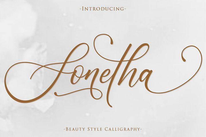 Sonetha | Beauty Style Calligraphy