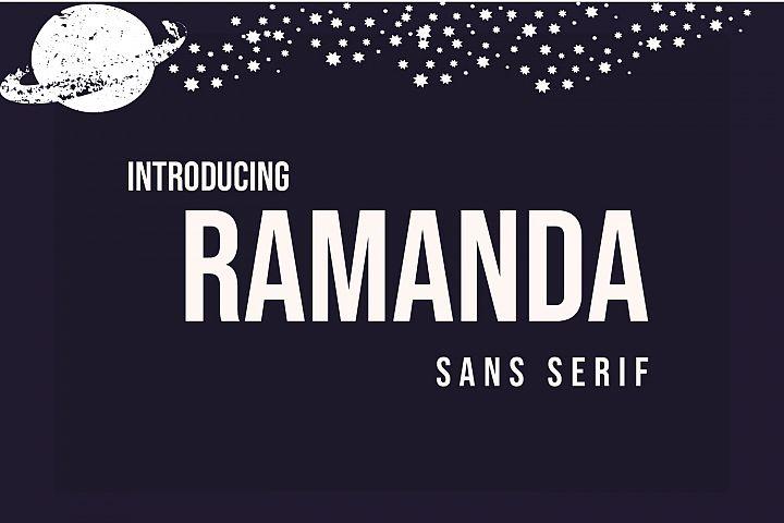 Ramanda Sans Serif