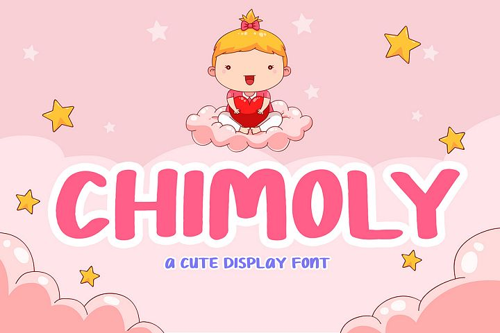 Chimoly Cute Display Font